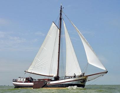 Dagje zeilen op de Waddenzee